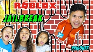 I Got The Keycard! I'm Not Going Back To Jail! | Roblox Jailbreak (Beta) | Minecraft Ethan