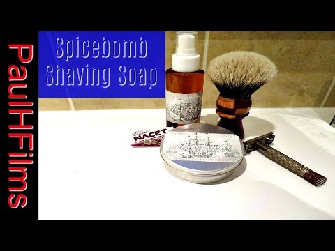 Spicebomb Shaving Soap  - Tabaco Aftershave