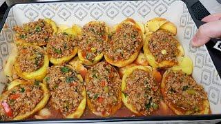 Чудо Блюда для всей семьи Запечённая картошка с Фаршем в духовке Вкуснота на обед или на ужин