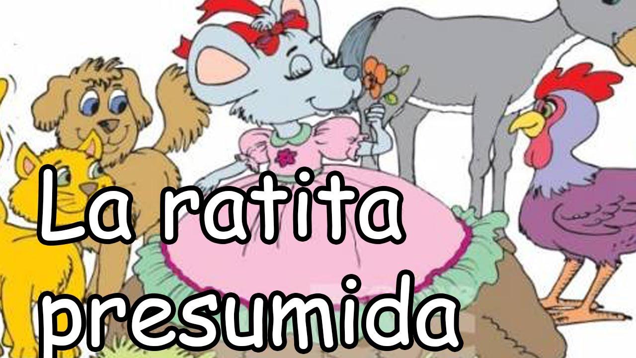 La Ratita Presumida La Verdadera Historia Tomás Galindo Youtube