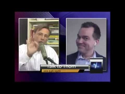 Austin Petersen Accuses Thom Hartmann of Being a Nazi