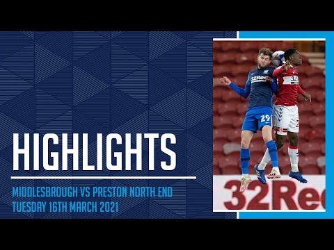 Middlesbrough Preston Goals And Highlights