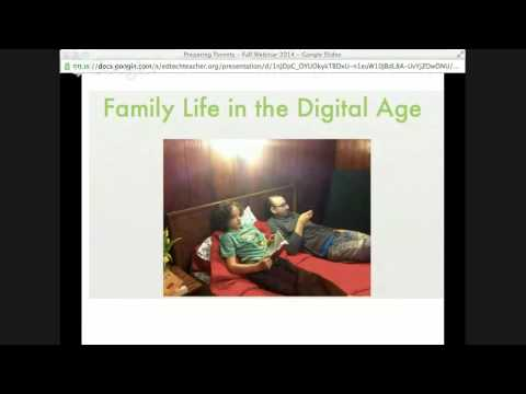 Back to School Webinar: Preparing Parents for Technology in the Classroom