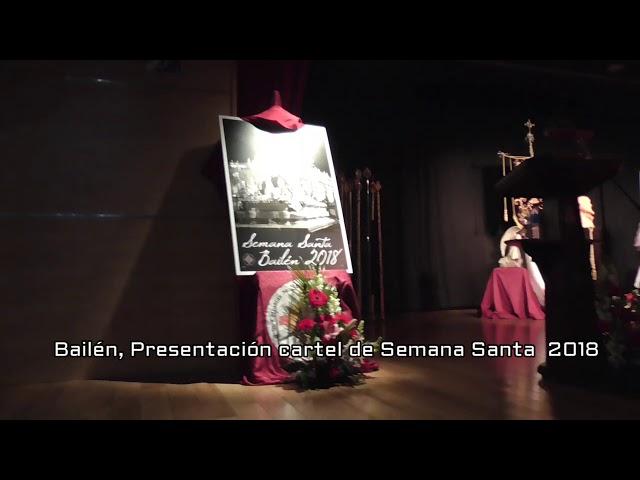 Presentación cartel de Semana Santa 2018