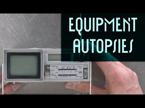 Portable CRT TV: Equipment Autopsy #103