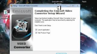 Emicsoft video converter .mp4