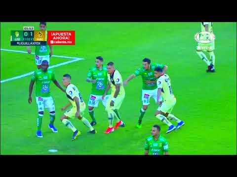 Gol de B. Valdez | León 0 - 1 América | LIGA Bancomer MX - Clausura 2019