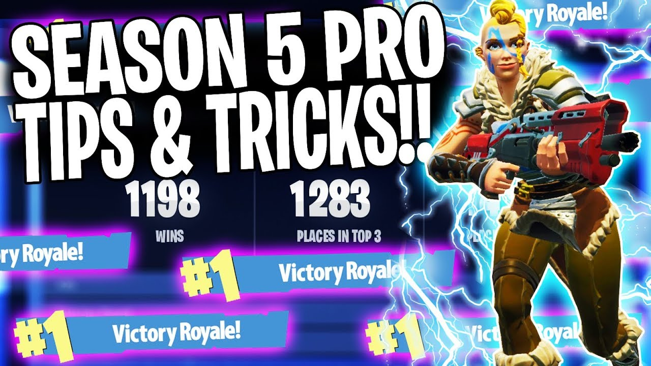 BEST FORTNITE TIPS TO WIN MORE GAMES! (Season 5 Ep. 1 Tips & Tricks) Gaming Video