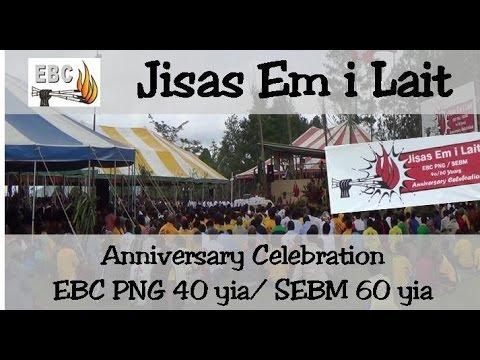 Anniversay EBC Papua New Guinea 60-40