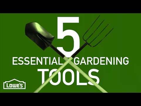 What Are The 5 Most Essential Gardening Tools? | Gardening Basics w/ William Moss