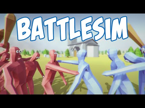 Totally Accurate Battle Simulator AKA Castle Clash Gameplay