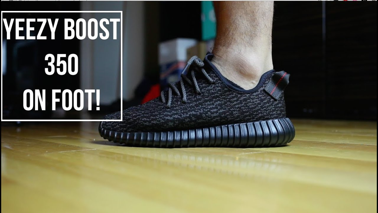 Yeezy Boost 350 On Feet