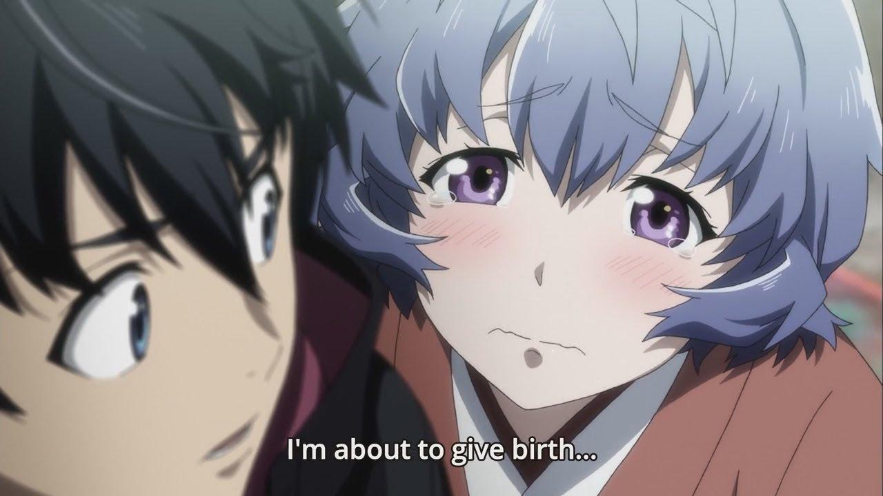 Pregnant Anime Girls