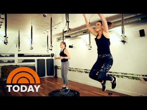 Savannah Guthrie And Jenna Bush Hager Become Workout Buddies | TODAY