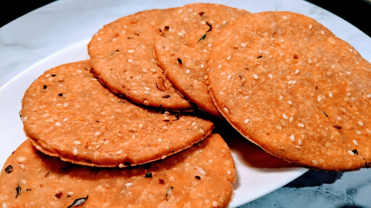 Nippattu Recipe/Chekkalu Recipe/Rice Crackers Recipe/ Rice ...