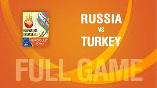 Russia vs Turkey | QUARTERFINALS | EUROVOLLEY AZERBAIJAN AND GEORGIA 2017
