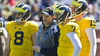 Who's next in line at Quarterback For Michigan?