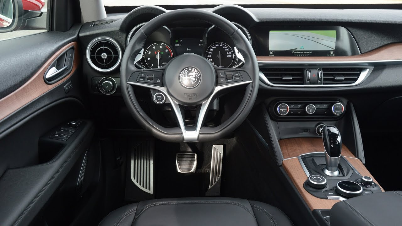 The All New Alfa Romeo Stelvio Suv Proves To Be A Strong Rival For The Audi Q5 And Bmw X3 Youtube