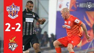 Hero ISL 2018-19 | FC Pune City 2-2 ATK | Highlights