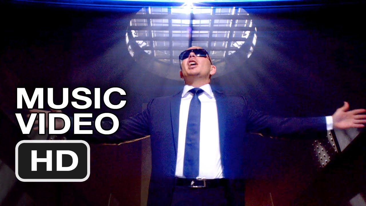 Men In Black 3 Pitbull Back In Time Music Video Hd Youtube