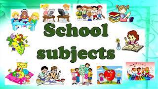 School subjects.  Школьные предметы.  Расписание уроков.