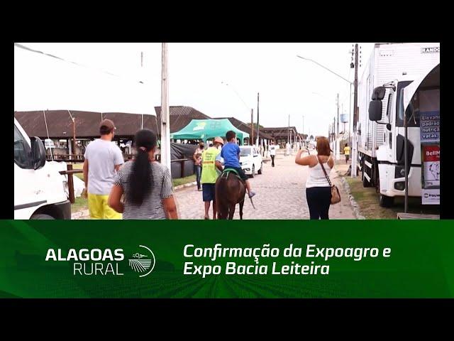 Confirmação da Expoagro e Expo Bacia Leiteira anima setor agropecuário de Alagoas