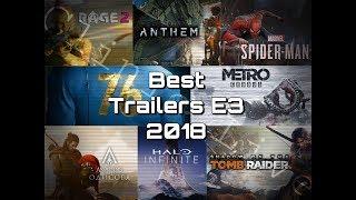 Лучшие Трейлеры Е3 2018