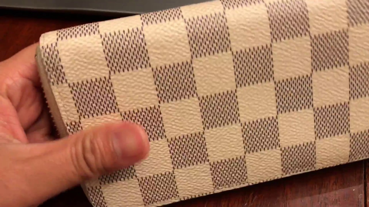 a3bc64c2bb853 How to Spot Authentic Louis Vuitton Clemence Damier Azur Wallet and ...
