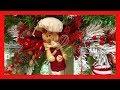 ~DIY~ Gingerbread Themed Christmas Wreath~