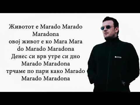 Slatkaristika ft. Tasko - MARADONA (Lyric Video)