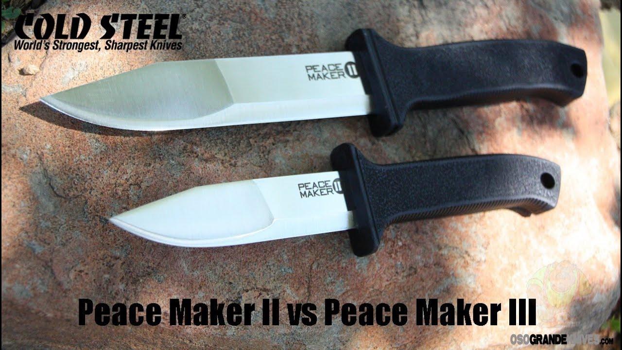 Нож cold steel peace keeper i нож охотничий как выбрать