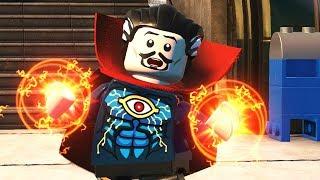Avengers Infinity War Doctor Strange! LEGO DC Supervillains!