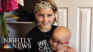 11-Year-Old Cancer Survivor Starts Foundation To Help Other Children Fight Back | NBC Nightly News
