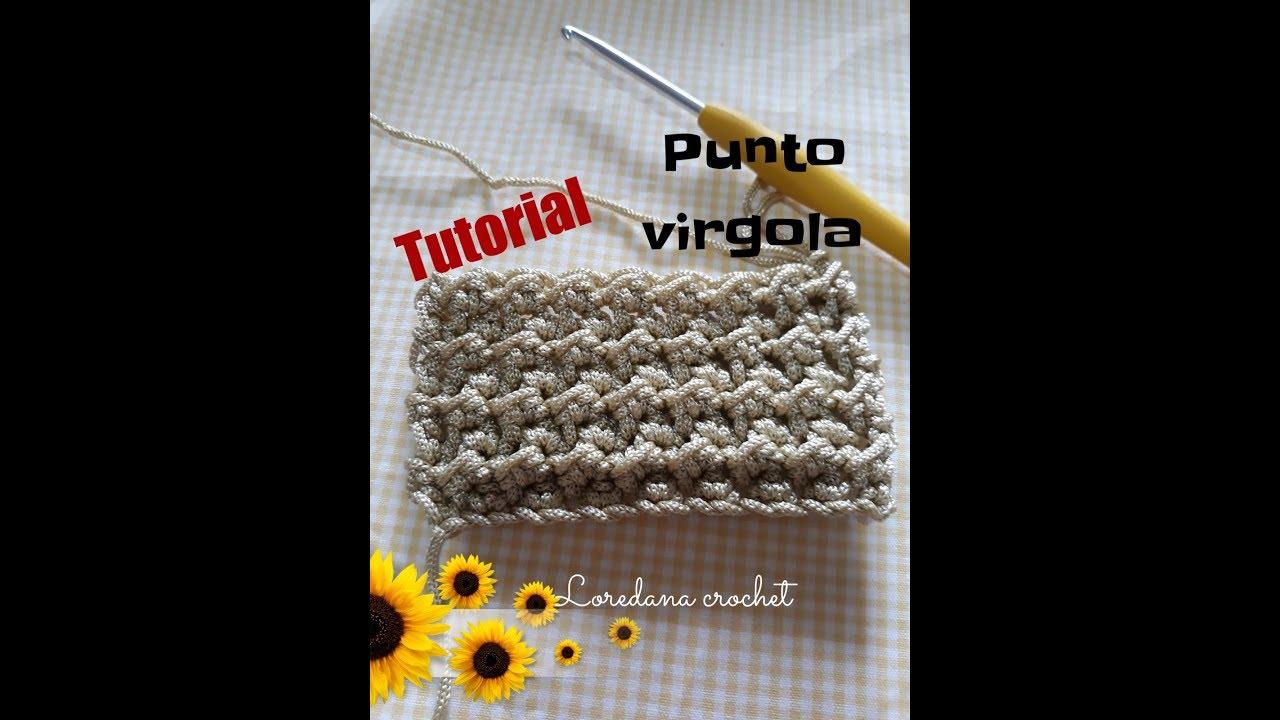 Punto Crochet All Uncinetto.Repeat Tutorial Punto Virgola All Uncinetto By Loredana Crochet