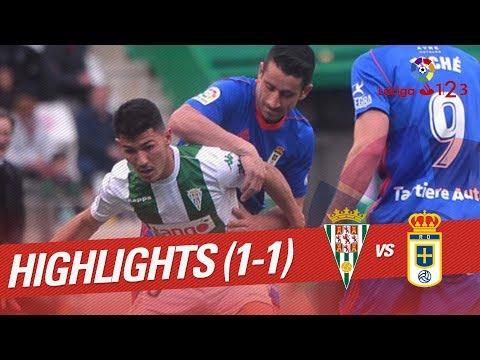 Resumen de Córdoba CF vs Real Oviedo (1-1)
