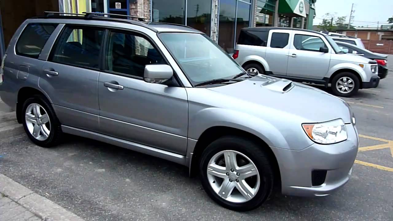 2008 Subaru Forester Xt 5mt Limited Youtube