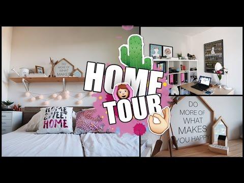 HOME TOUR 2016 - Nuestro apartamento en Alemania | Vlogs diarios #64