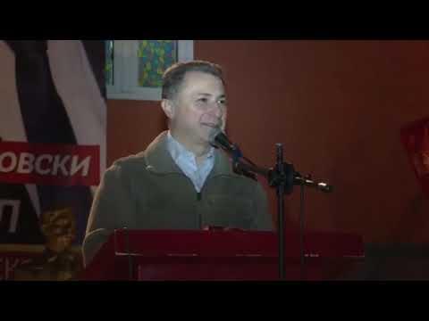 """Груевски обвинува за """"африкански"""" избори во Македонија"""