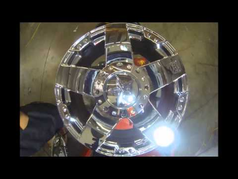 KMC Wheels 775 Rockstar Chrome