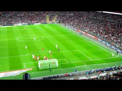 Gary Cahill goal - England vs Peru