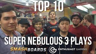 Best of Smash - Top 10 Plays of Super Nebulous 3 - SSBM