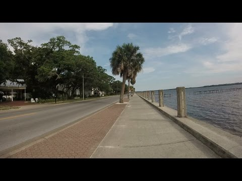 18-Mile Panama City, FL Area Bike Ride - St. Andrews, Downtown,  and the Cove