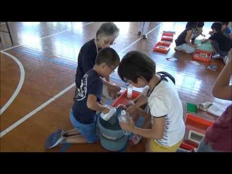 環境活動団体「環境たくみの会」と協働で小学校環境学習