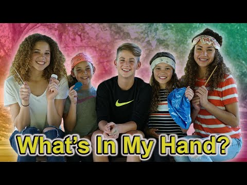 Thumbnail: What's In My Hand?? (MattyBRaps & Haschak Sisters)