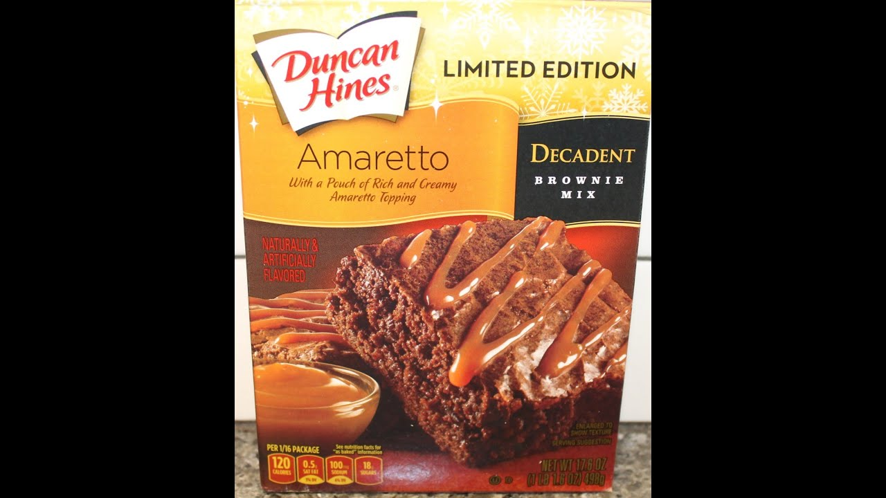 Amaretto Cake Mix