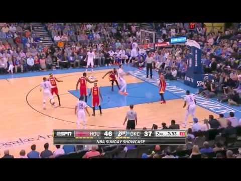 [Hello NBA Basketball] Houston Rockets vs Oklahoma City Thunder | April 5, 2015 | NBA 2014-15