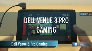 Dell Venue 8 Pro Gaming Performance Overview