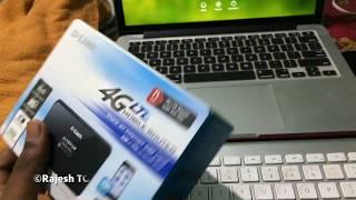 D-Link DWR-932 4G LTE Mobile Wi-Fi Hotspot Router