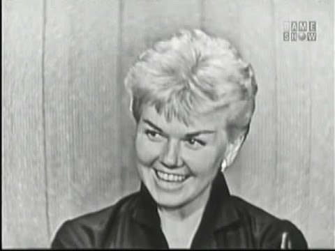 What's My Line? - Ernie Kovacs; Doris Day; Robert Young [panel] (Sep 8, 1957)