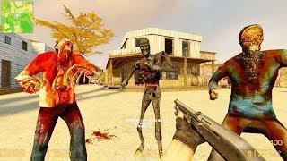 Counter Strike Source - Zombie Horde Mod Online Gameplay on de_guntown map